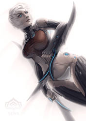 Warframe - Humanoid NOVA by ZliDe