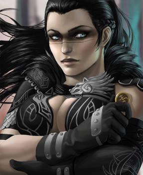 [Commission] Bladedancer
