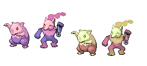 Munna and Drowzee fusion by OswaldLunaire