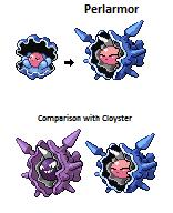 Clamperl new evolution - Perlarmor!