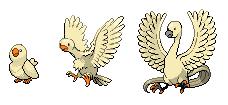 Fakemon - Light Bird Pokemon by OswaldLunaire