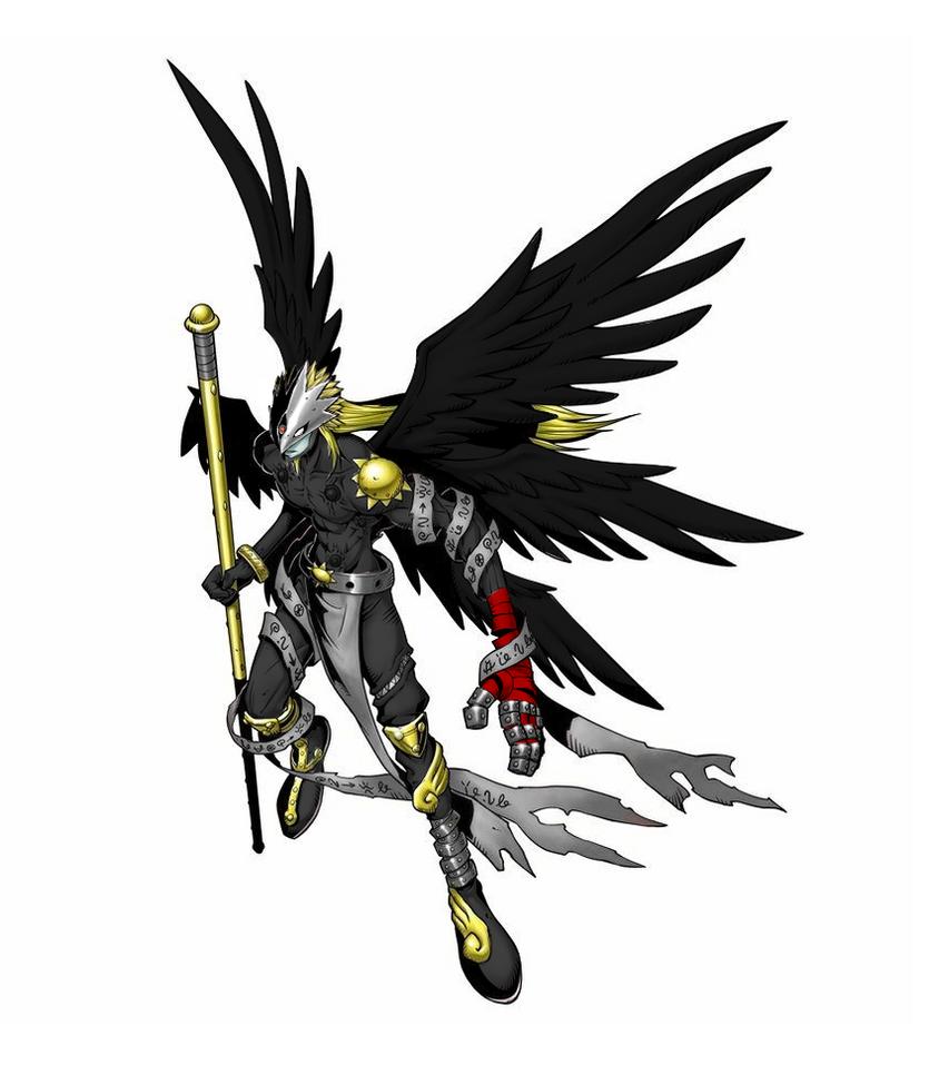 Samaelmon #Angel of Death by OswaldLunaire
