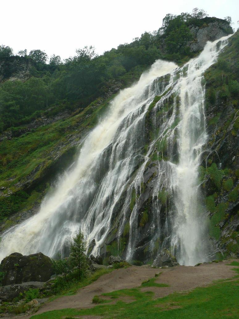 Powerscourt Waterfall - Ireland by andrakis75