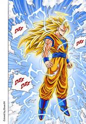 Goku SSJ3 - Colored