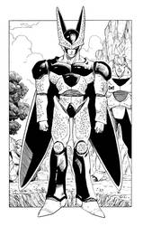 Dragon Ball - First Perfect Cell Appearance