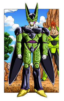 Dragon Ball - First Perfect Cell Appearance (Colo)