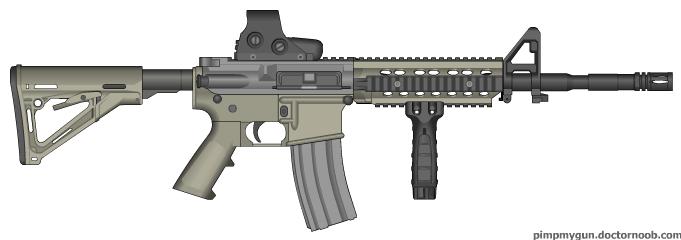 M-4 A1 Carbine Dead Trigger Inspiration by ColtM4A2