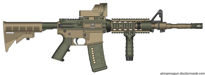 Patrol M-4 A1 Light Version by ColtM4A2