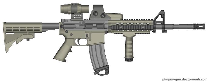M-4 A1 Carbine USMC by ColtM4A2