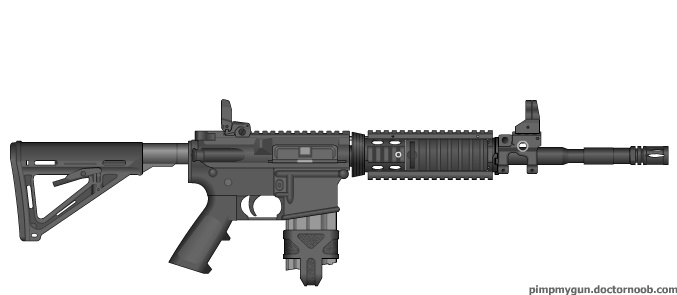 Modern Warfare 3 M-4 A1 Carbine by ColtM4A2