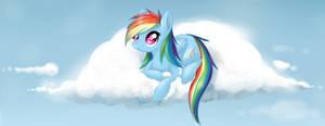 Rainbow Dash - Cloudy Day
