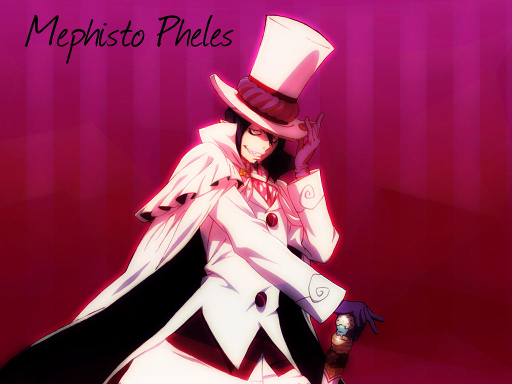 mephisto pheles ao no exorcist wallpaper by brookhayes12