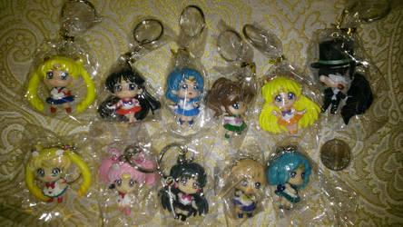 Sailormoon Keychain Set - Free Raffle by EMReven