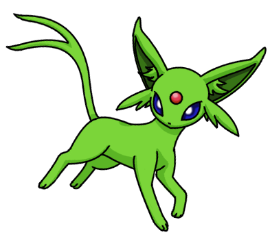 Espeon Pokemon Shiny