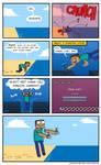 Minecraft - FLIPPING WATER