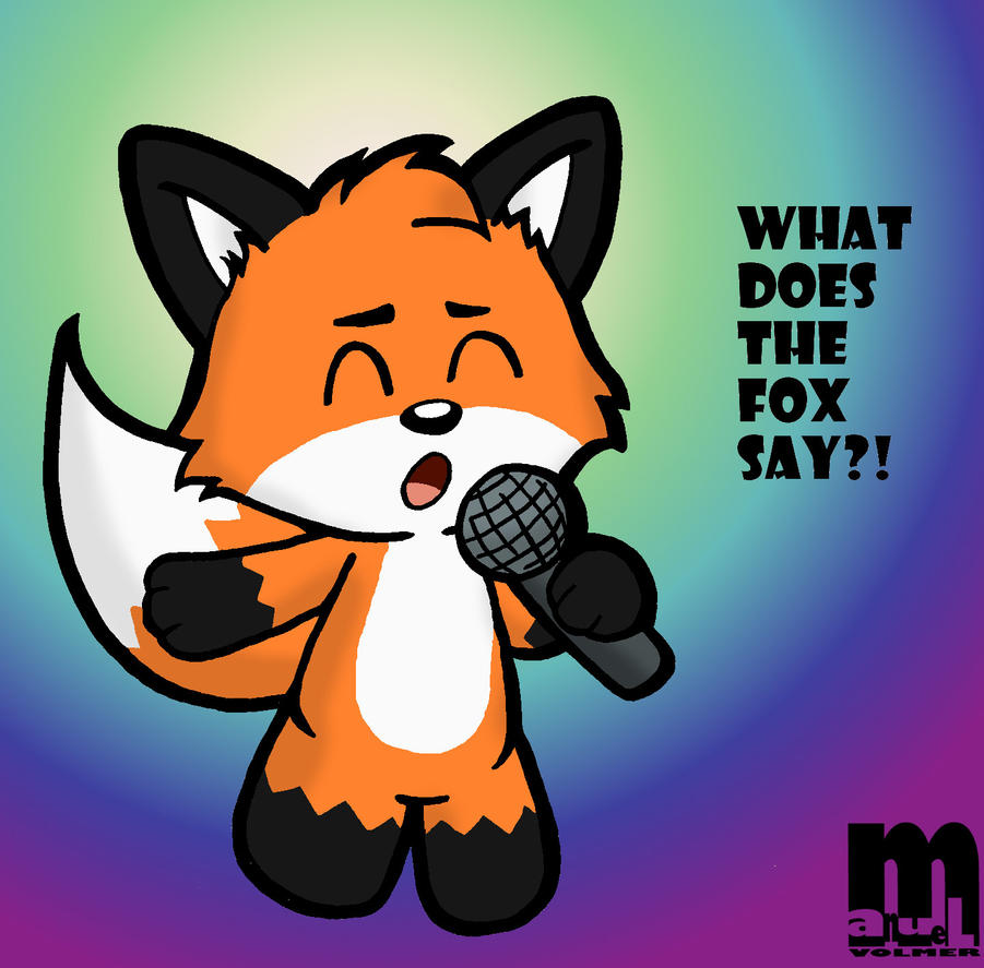 What Does The Fox Say by Cartcoon on DeviantArt