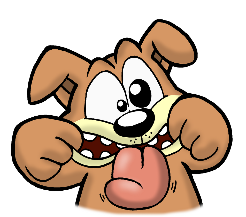 silly face dog by cartcoon on deviantart rh cartcoon deviantart com funny animated faces clipart silly faces clip art