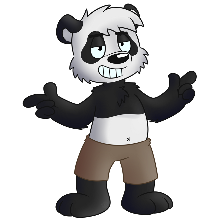 Cool Panda By Cartcoon