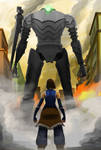 -The Last Stand- Korra X Colossus