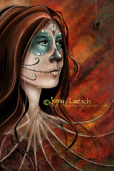 Day of the Dead by JennLaa