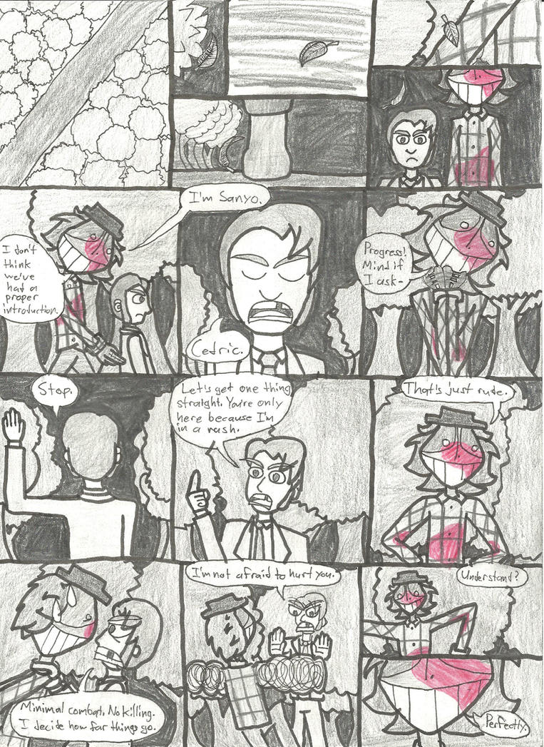 Memory Round One: Page 1 by FutureSoulSurvivor