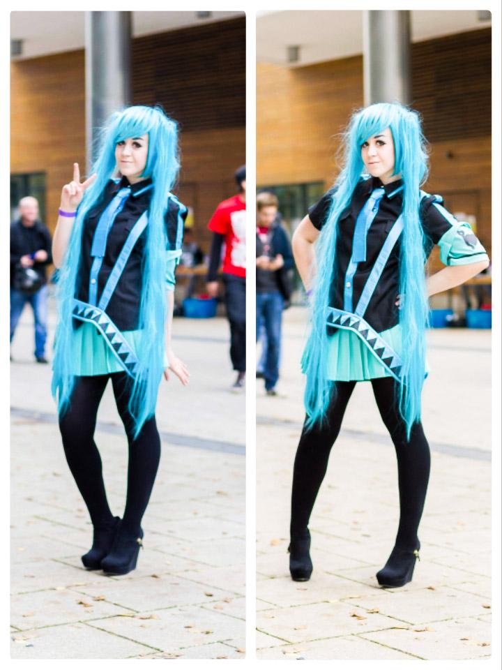 hatsune mikulove is war cosplay by promenadequeen on