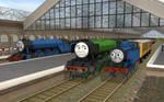 Thomas Meets the Scotsman
