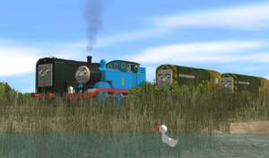 Diesel and the Ducklings