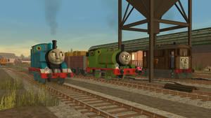 Three Steam Engines Gruff