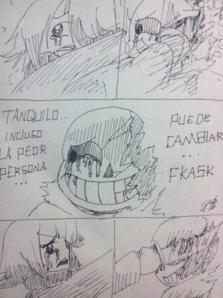 Underfail Mini Comic Pg 3 by Rodlfato