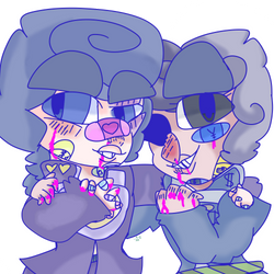 best bros with bloody knuckles by hopefullfishies