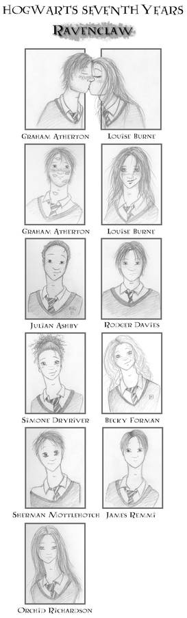 SEVENTH YEARS - Ravenclaw