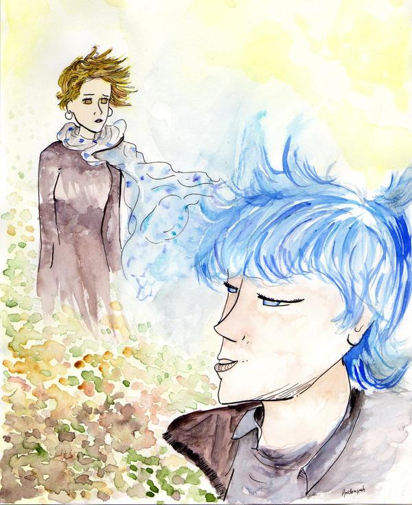 Le bleu est une couleur chaude by Andrayah