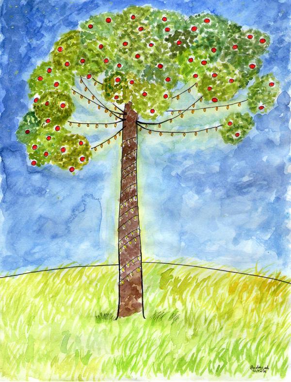 Tannenbaum by Andrayah