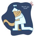 Thank you Scott by alexspore