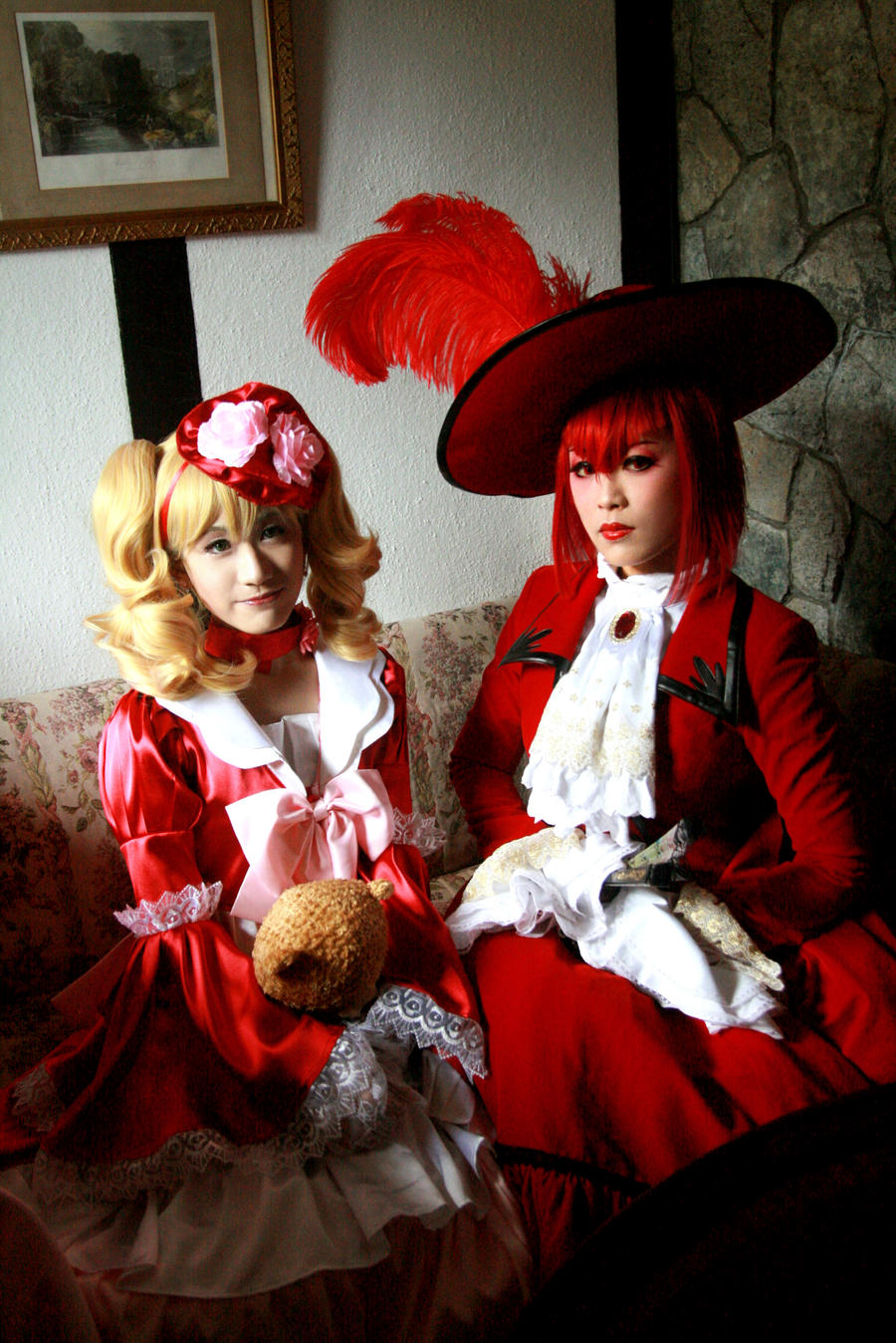 Ladies in Red by SilentCircus90