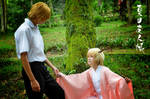 Daddy Natsume with Tama