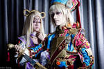 Trinity Blood: Mirka and Ion