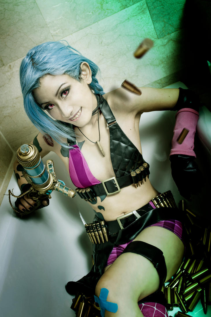 Giggles - The Fool League_of_legends__jinx_bullet_bath_by_silentcircus90-d70f2bz