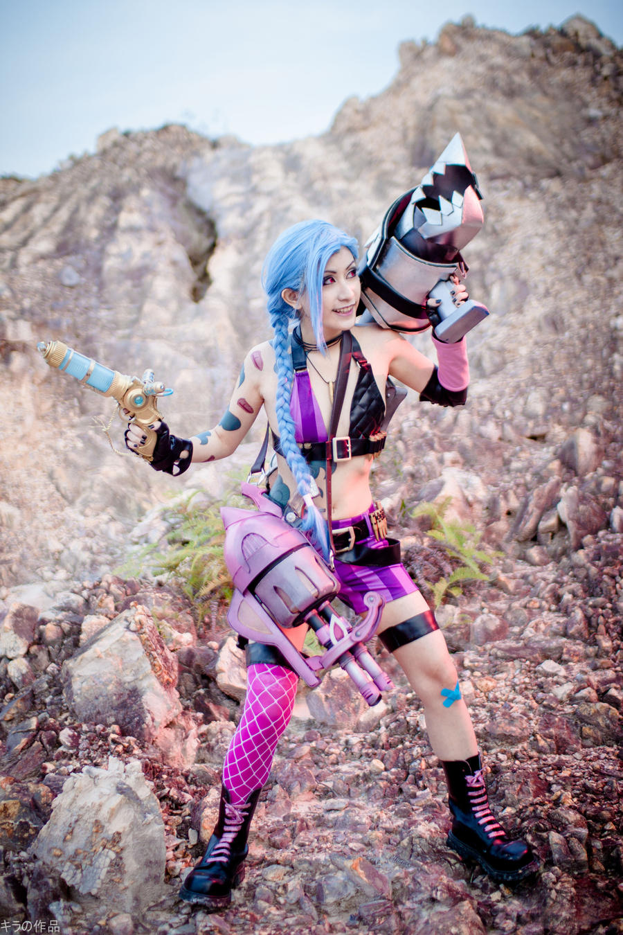 League of legends cosplay jinx
