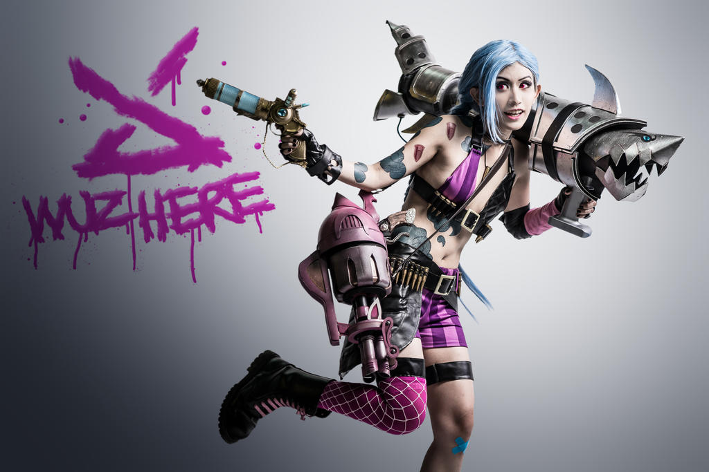 League of Legends: Jinx Escapes by SilentCircus90