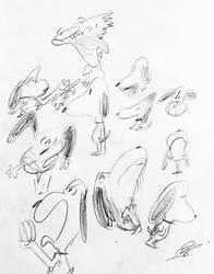 snoopies by GrandEch