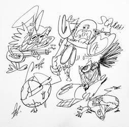 sketchers by GrandEch