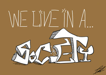 we live in a... by GrandEch
