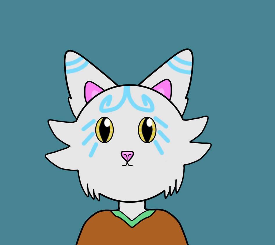 Anthro White Cat Design By Drakjakee On Deviantart
