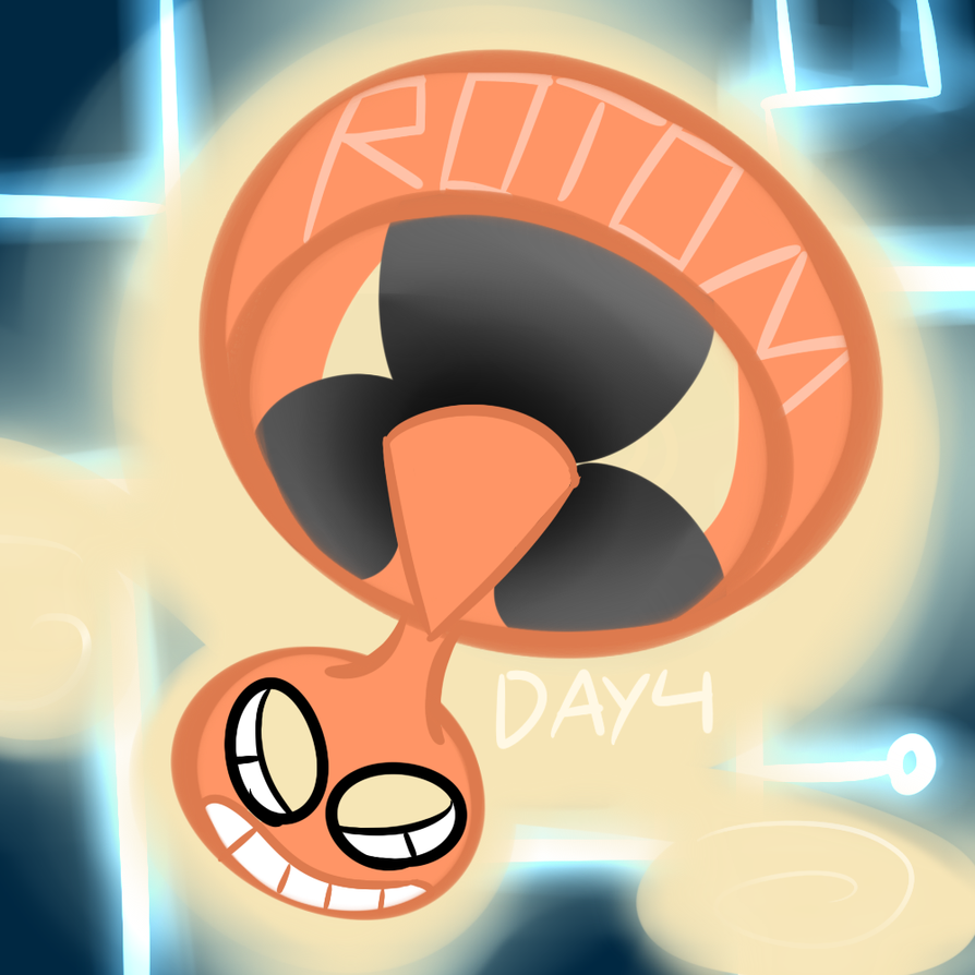 Day four rotom by Ssevora