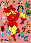 Iron Man and Foes