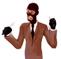 Spy sketch by J-Sabbath