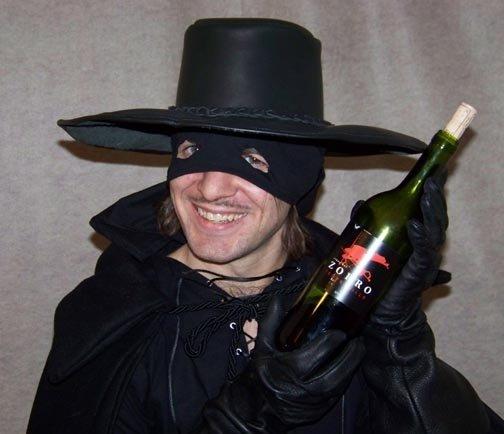 Zorro Wine by thetavernknight