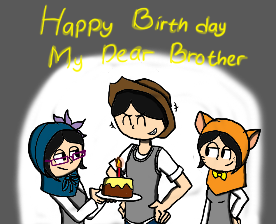 Happy Birthday My Big Brother by twinscover on DeviantArt